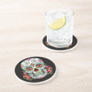 Day of the Dead Skull Coaster