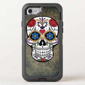 Day of the Dead Skull Día de Muertos Mexico OtterBox Defender iPhone 8/7 Case