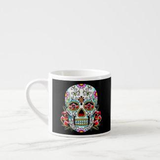 Day of the Dead Skull Espresso Cup