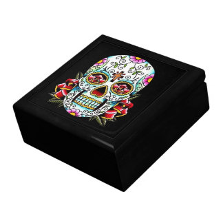 Day of the Dead Skull Gift Box