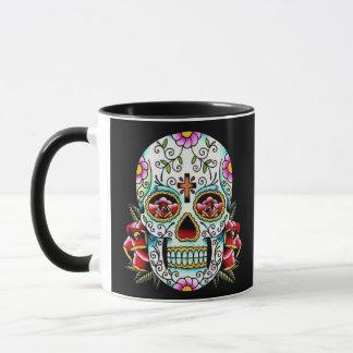 Day of the Dead Skull Mug