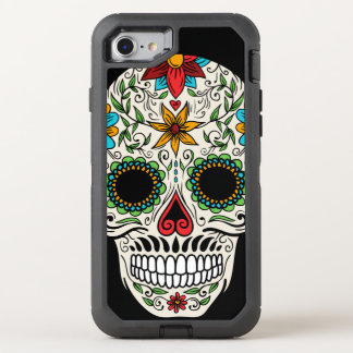 Day of the Dead Sugar Skull Otterbox iPhone 7 Case