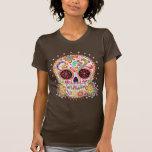 Day of the Dead Sugar Skull Shirt