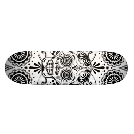 Day of the Dead Sugar Skull Skateboards
