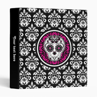 Day of the Dead sugar skull Vinyl Binders