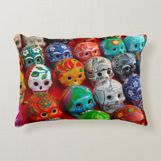 Day of the Dead Sugar Skulls Accent Pillow