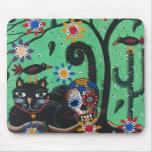 Day Of The Dead, Sugar Skulls, Black Cat, By Lori