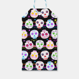 Day of the Dead Sugar Skulls Gift Tags