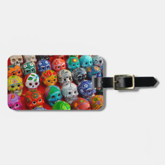 Day of the Dead Sugar Skulls Luggage Tag