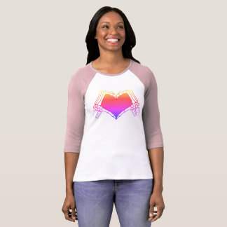 Day of the Dead T-shirt Pink Neon
