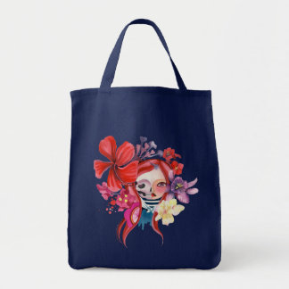 Day of the Dead T-shirt Tote Bag