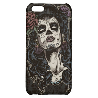 Day of the Dead Woman Color iPhone 5C Cases