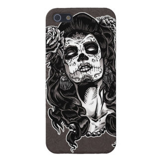 Day of the Dead Woman iPhone 5 Cover