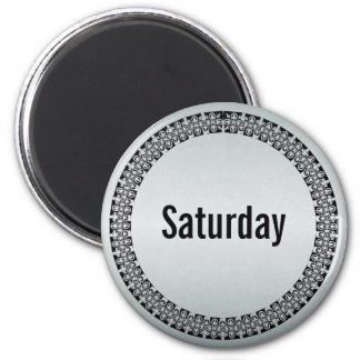 Day of the Week Saturday Magnet