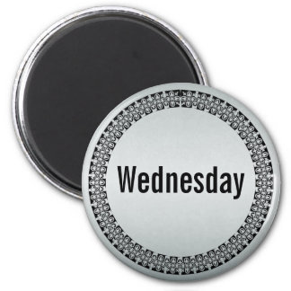 Day of the Week Wednesday Magnet
