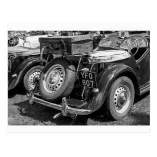 """""""Day out in the classic MG"""" postcards"""