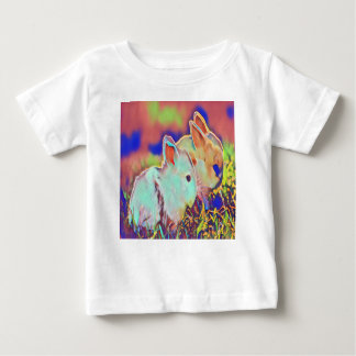 Day Time Dwarf Bunnies Baby T-Shirt