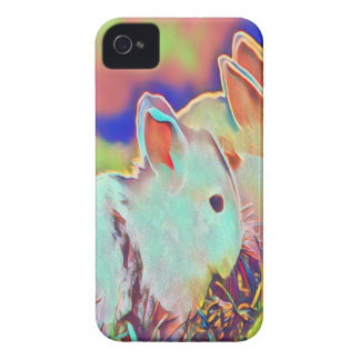 Day Time Dwarf Bunnies iPhone 4 Case-Mate Case