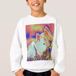 Day Time Dwarf Bunnies Sweatshirt