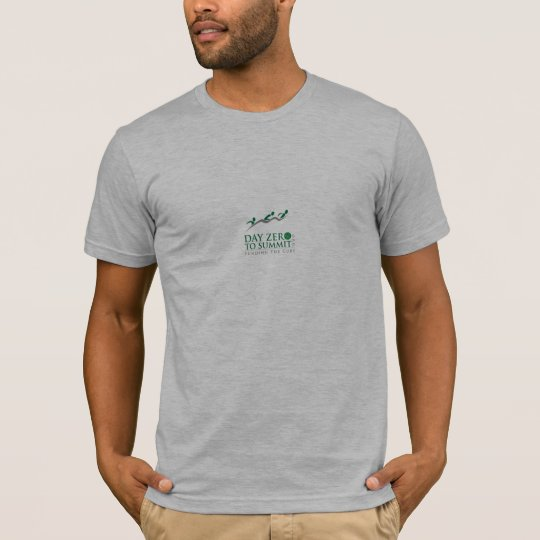Day Zero to Summit Official t Shirt