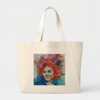 Dayaknese, Borneo, Exotic, Plants, Forest, Tribal, Large Tote Bag