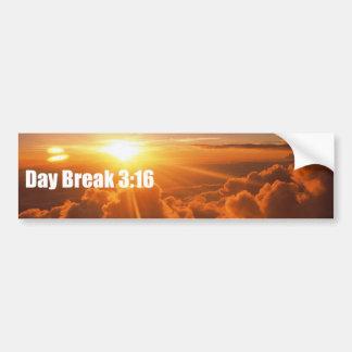 Daybreak 3:16 Bumber Sticker