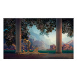 Daybreak by Maxfield Parrish in 1922 Poster