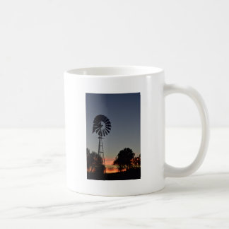 DAYBREAK & WINDMILL RURAL QUEENSLAND AUSTRALIA COFFEE MUG