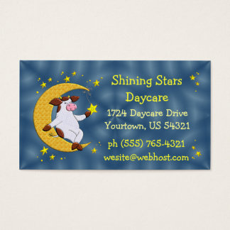 Daycare Center Business Card