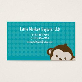 Daycare child care babysitting Mommy calling card