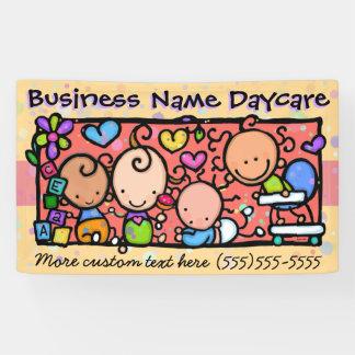 Daycare.Child Care.Pre-School.Customizable Banner