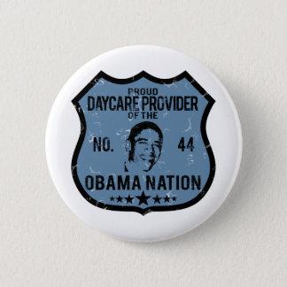 Daycare Provider Obama Nation 2 Inch Round Button