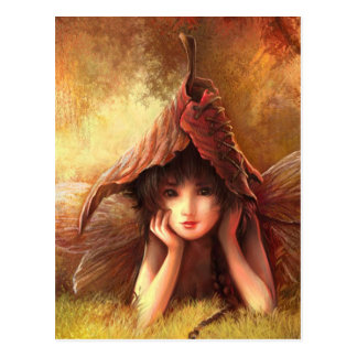 Daydreaming Fairy Postcard