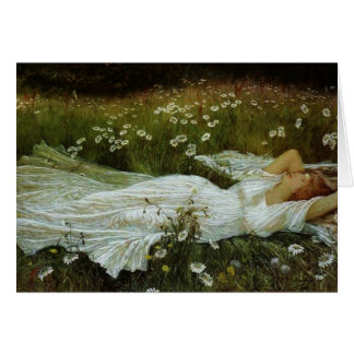 Daydreaming in a Field of Daisies, Card
