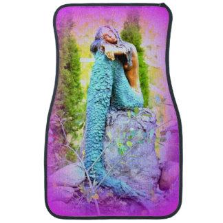daydreaming mermaid car mat