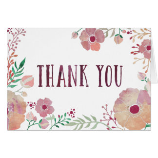 Daydreaming Palette Thank You Card