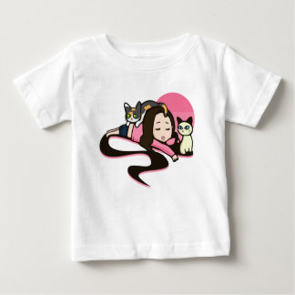 Daydreaming with the Cats Baby T-Shirt
