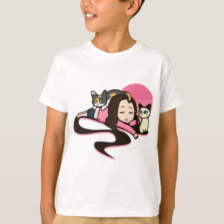 Daydreaming with the Cats T-Shirt