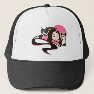 Daydreaming with the Cats Trucker Hat