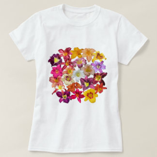 Daylilies Collage T-Shirt