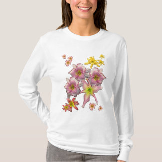 Daylily Blooms T-Shirt