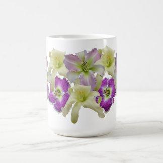 Daylily Collage Mug