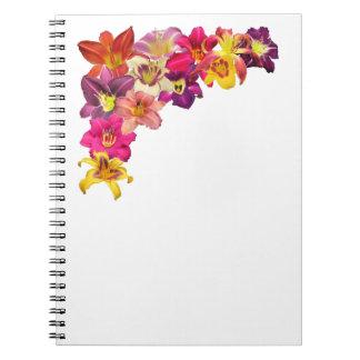 Daylily Corner Collage Notebook