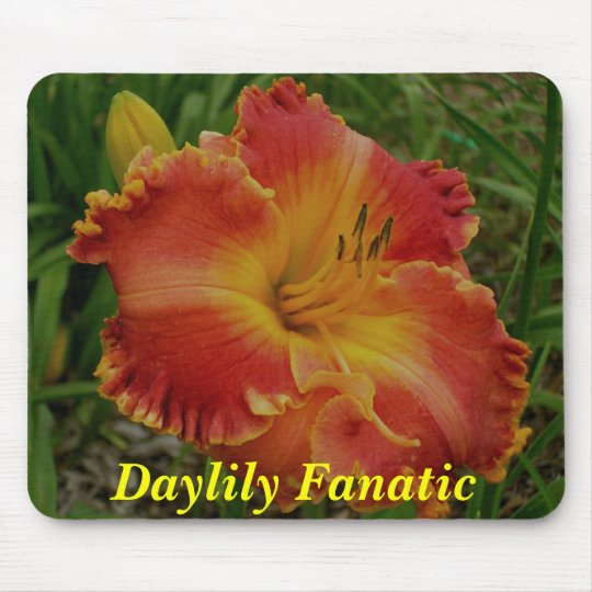 Daylily Fanatic Mouse Pad