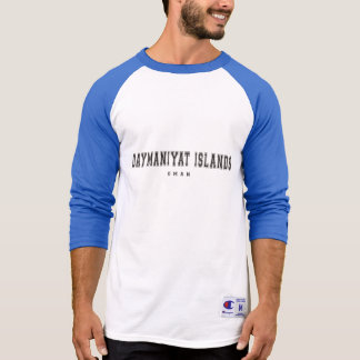 Daymaniyat Islands Oman T-Shirt