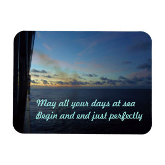 Days at Sea Custom Magnet
