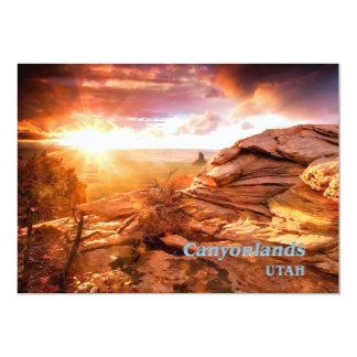 Days End Candlestick Tower Overlook Canyonlands NP Card