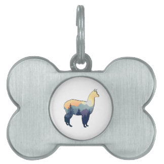 Days Gone By Pet Name Tag