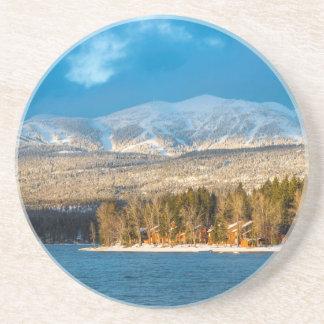 Days Last Light Shines On Ski Runs Of Whitefish Coasters