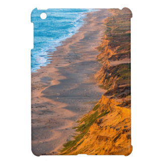 Days Last Light Strikes The Sandy Shore Of Point iPad Mini Cover